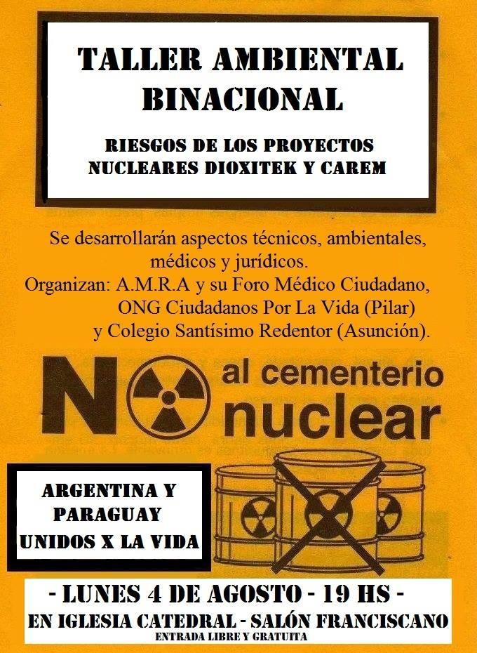 volante taller binacformosa no nuclear
